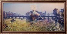 Новый мост, осень, Бато-Лавуар 1940 - Кариот, Густав