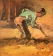 Копающий мужчина - Гог, Винсент ван