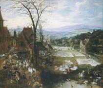 Фламандский рынок, 1620 - Бреггель, Ян (Старший)