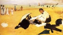 Пляжная сцена, 1877 - Дега, Эдгар