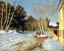 Март. 1895 - Левитан, Исаак Ильич