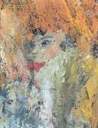 Лицо женщины (реверс картины Любитель абсента) - Пикассо, Пабло