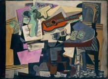 Натюрорт с гитарой - Пикассо, Пабло