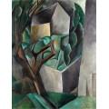 Домик в саду (домик и деревья) - Пикассо, Пабло