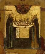 Св.Савватий и Зосима Соловецкие (ок.1675)