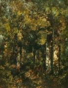Деревья в лесу Фонтенбло - Диас де ла Пенья, Нарсис