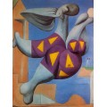 Купальщица на берегу моря, 1932 - Пикассо, Пабло