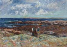 Ля ПонтБер Эр Морц, 1909 - Море, Анри