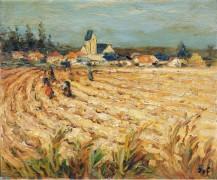 Гленерс, женщины в пшеничном поле - Диф, Марсель