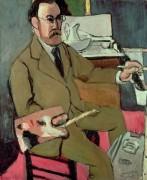 Автопортрет, 1918 - Матисс, Анри