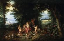 Пейзаж с Церерой (Аллегория земли) - Брейгель, Ян (младший)