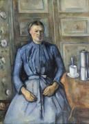 Женщина с кофейником - Сезанн, Поль
