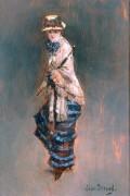 Девушка с зонтиком - Беро, Жан