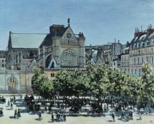 Церковь Сен-Жермен-л'Осеруа в Париже - Моне, Клод