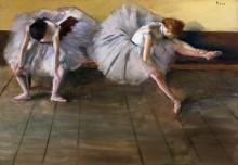 Две балерины - Дега, Эдгар