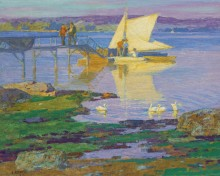 Лодка в доке - Потхаст, Эдуард Генри