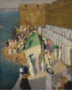 Прилив в Сен-Мало, 1911-12 - Фокс, Этель Каррик