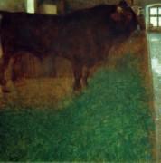 Черный бык - Климт, Густав
