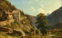 Старая дорога из Нассерайта в Ройтте - Шеффер, Август