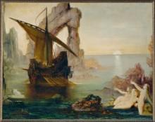 Одиссей и сирены - Моро, Гюстав