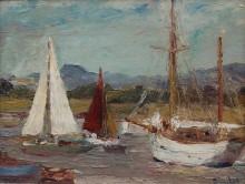 Лодки рядом  с Чичестером - Данлоп, Рональд Оссори