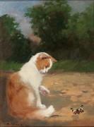 Кот и бабочка - Райнер-Иштванфи, Габриэлла