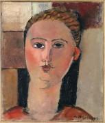Рыжеволосая девушка - Модильяни, Амадео