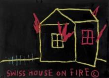 Пожар в швейцарском доме - Баския, Жан-Мишель