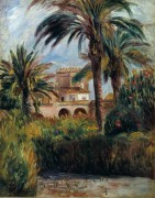 Пальмовый сад в Алжире - Ренуар, Пьер Огюст