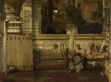 Овдовевшая египтянка - Альма-Тадема, Лоуренс