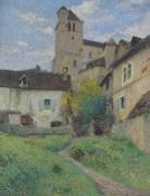 Церковь в Сен-Сирк-Лапопи - Мартен, Анри Жан Гийом