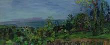 Пейзаж в Виллервиле - Дюфи, Рауль