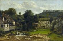 Мельница на реке Лу - Курбе, Гюстав