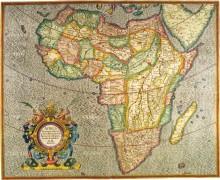 Карта Африки, 1633г. - Меркатор, Герард