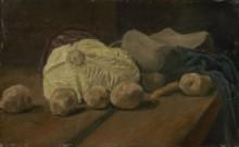 Натюрморт с капустой и деревянными башмаками (Still Life with Cabbage and Clogs, 1881 - Гог, Винсент ван