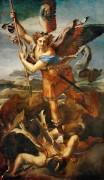 Святой Михаил и дьявол - Рафаэль, Санти