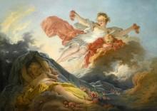 Триумф Авроры над ночью - Фрагонар, Жан Оноре