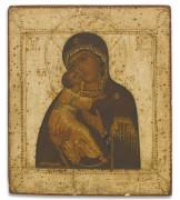 Икона Б.М. Владимирская (XVII в)
