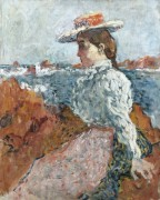 Женщина на камнях - Вальта, Луи