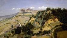 Крепость в Вольтерре - Коро, Жан-Батист Камиль