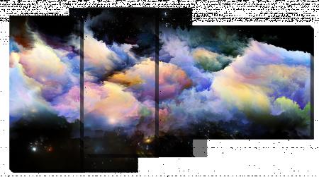 Абстракция космические облака_2