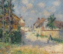 Улица в Сен-Сир-дю-Водрейль 1924 - Луазо, Гюстав