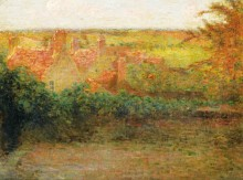 Терраса, солнце, Герберой, 1901 - Сиданэ, Анри Эжен Огюстен Ле
