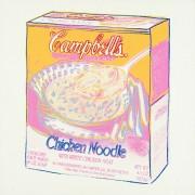 Куриный суп с лапшой Кэмпбелл - Уорхол, Энди