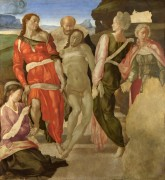 Погребение Христа - Микеланджело Буонарроти
