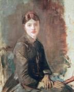 Мадмуазель Ривьер, невестка художника - Тулуз-Лотрек, Анри де