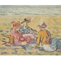 Три женщины на пляже - Вальта, Луи
