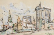 Порт в Ла-Рошели, 1920 - Синьяк, Поль