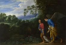 Тобиас и Архангел Рафаил - Эльсхаймер, Адам