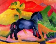 Маленькая синяя лошадь - Марк, Франц